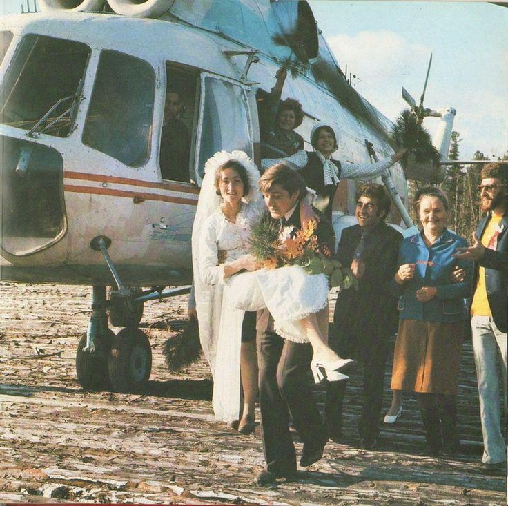 Soviet wedding.