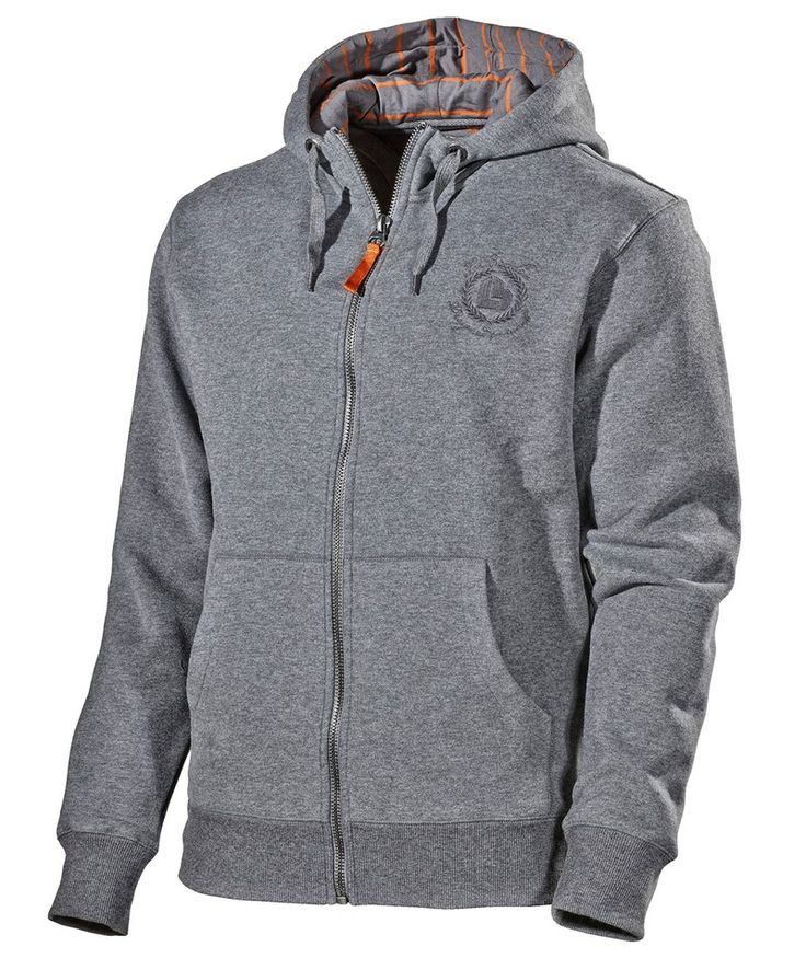 L.Brador Sweatshirt m. hætte 660PB, gråmeleret