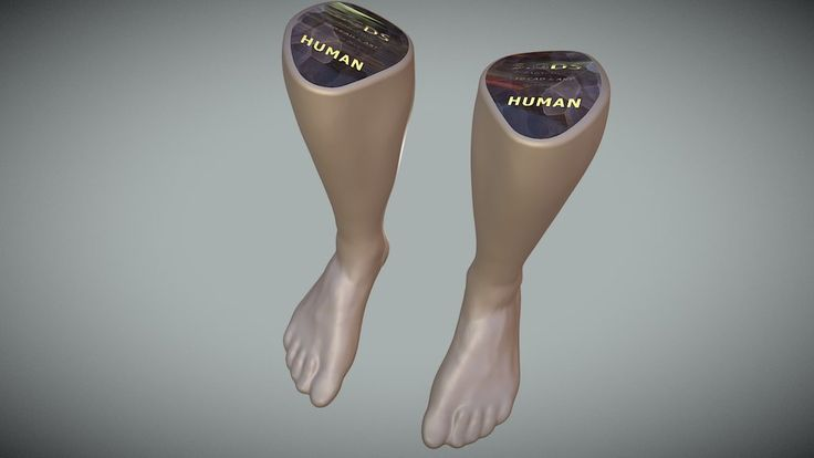 SCANNED FEET in 3D by sgds.moscow