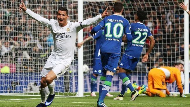 Doppelpack in 85 Sekunden: Ronaldo dreht jubelnd ab, die Wolfsburger sind geschockt