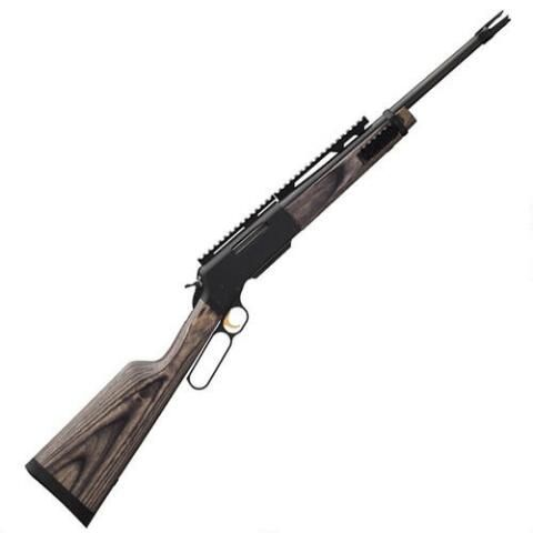 """Now that's a tactical lever gun....Browning BLR Black Label Takedown Lever Action Rifle .308 Win 18.5"""" Barrel 4 Rounds Laminate Stock Blued - 034028218 - 023614438588"""