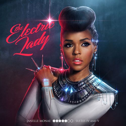 Janelle Monáe, The Electric Lady Album Cover (Deluxe)
