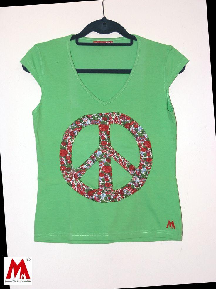 Camiseta paz y esperanza