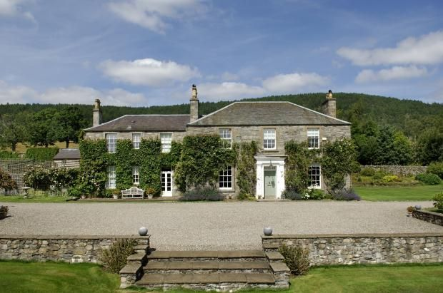An elegant, C-listed former manse with many period features and stunning gardens that sits in a private location with views across the River Garry and beautiful Perthshire countryside