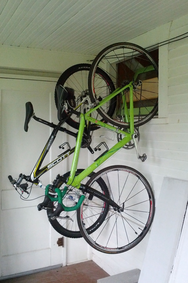 Build An Apartment Sized Bike Rack Out Of Pvc Bikes Diy