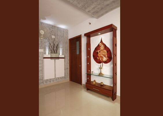 Puja Room Design. Home Mandir. Lamps. Doors. Vastu. Idols Placement. Part 16