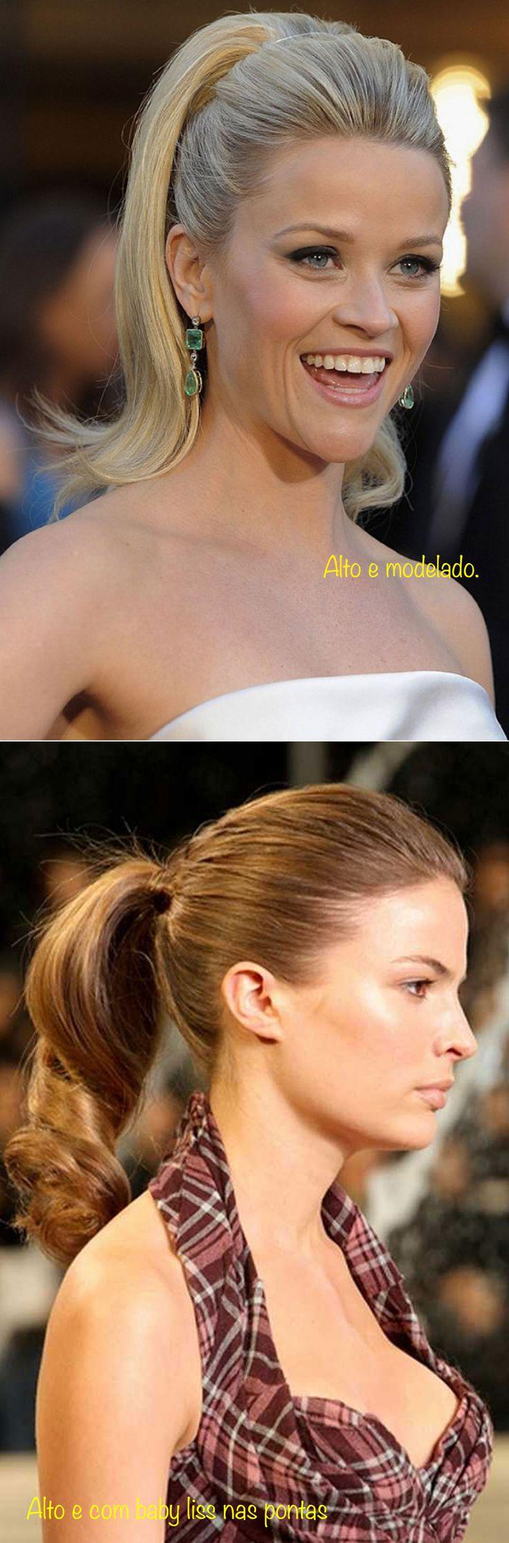 Penteado alto