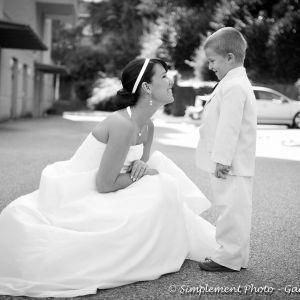 Photographie Mariage mariee-avec-enfant