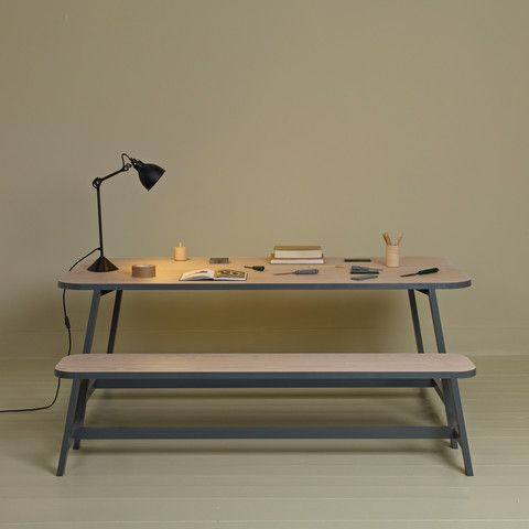Another Country: series three: long bench and dining table