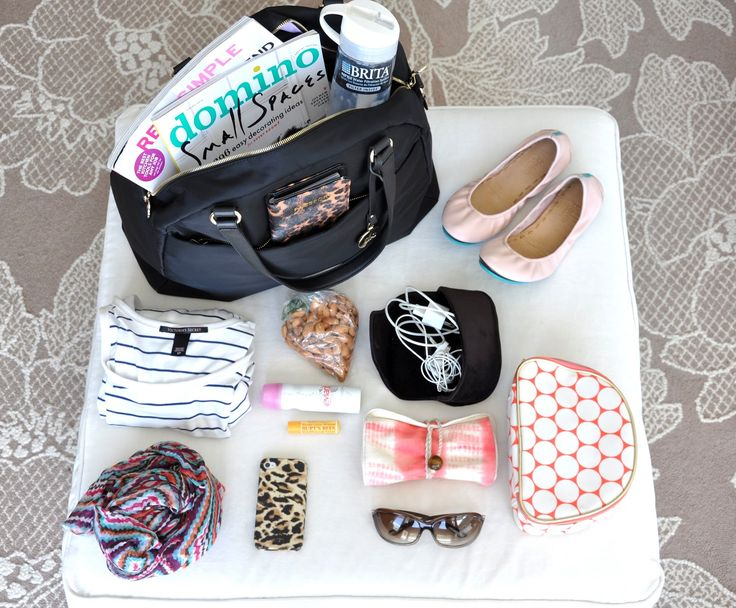 deliciously organized: carry on bag items