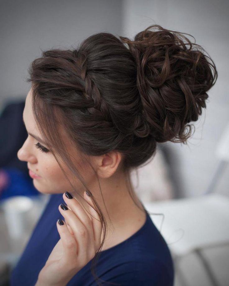Enjoyable 1000 Ideas About Braided Updo On Pinterest Braids Braided Short Hairstyles Gunalazisus