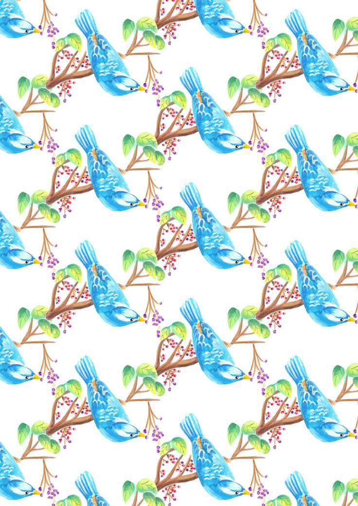 Blue dove
