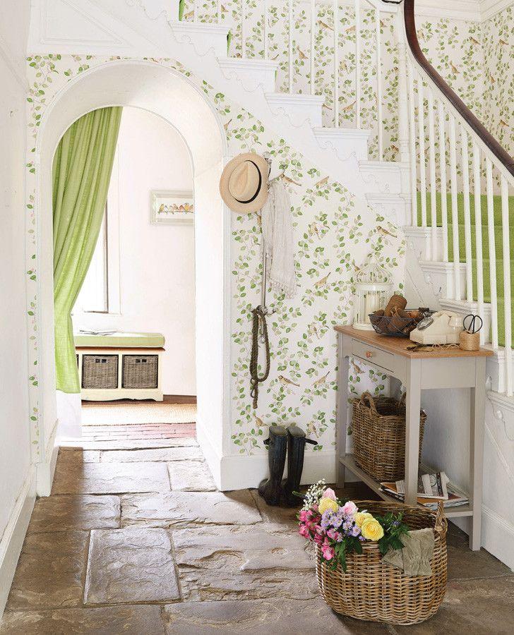 Küchentapete Landhausstil ~ 1000+ ideen zu green kitchen wallpaper auf pinterest küchentapete, offene küchenregale und