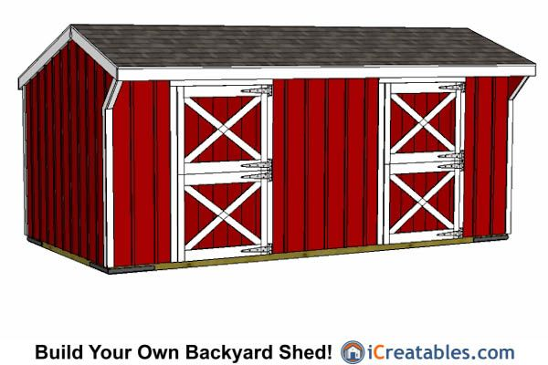 9 Best 10x20 Shed Plans Images On Pinterest 10x20 Shed