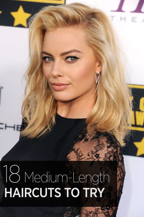 mid length haircuts for women 40 most stylish mid length haircuts amp hair 2311 | ef3800d703de91a2a09d763bda56598e celebrity medium haircuts hairstyles for medium length