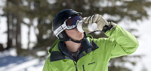 Ski-in/ski-out Starbucks brings takeaway coffee to the slopes