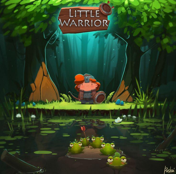 Little Warrior on Behance