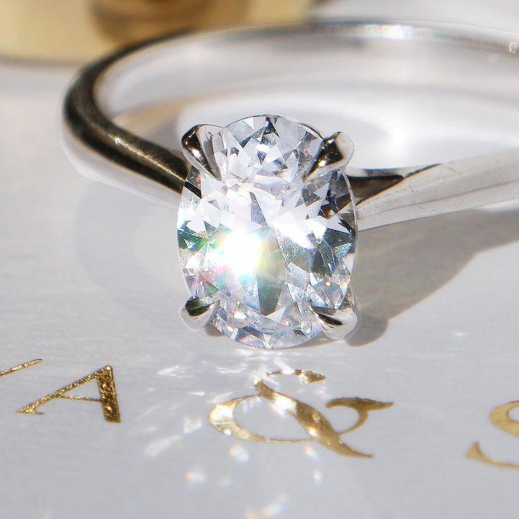 Naveya and Slone Engagement ring, The Chara Setting #engagement #ring #diamond #naveyaandsloane