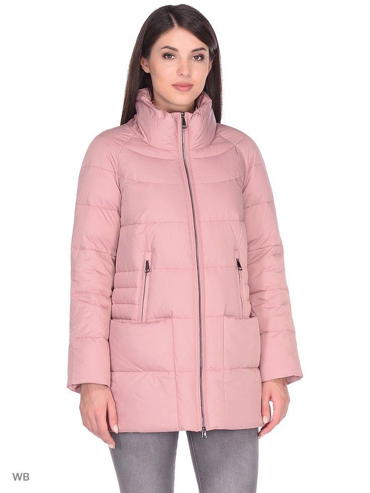 Пуховик PRIMA WOMAN. Цвет розовый.