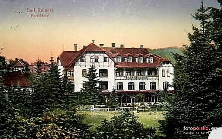 """Sanatorium """"Zimowit"""" - Pawilon I (Park Hotel Liche, Parkhotel), Duszniki-Zdrój - 1923 rok, stare zdjęcia"""