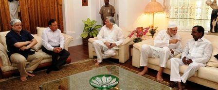 Telangana: CM K Chandrashekhar Rao conveyed his condolences to Shah Alam Khan Family