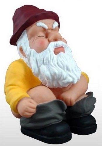 Gnome Sculpture Garden Statue Yard Outdoor Decor Lawn Home Patio Funny Dwarf Elf