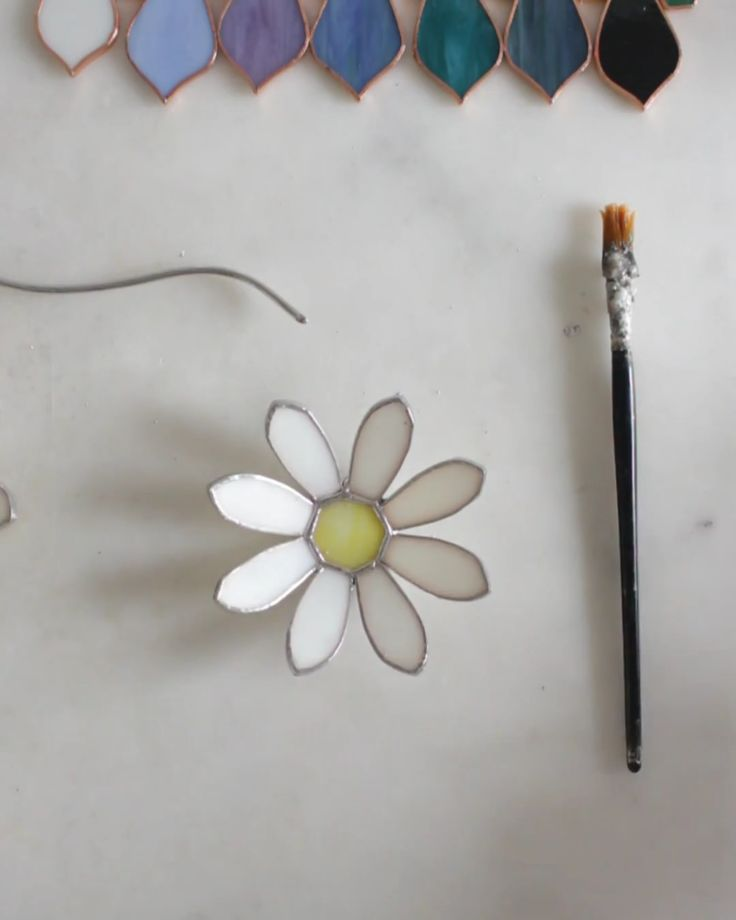 Stained Glass Daisy Ring Dish | Behind the Scenes