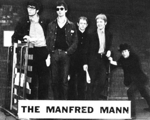 Manfred mann enkelt diskografi