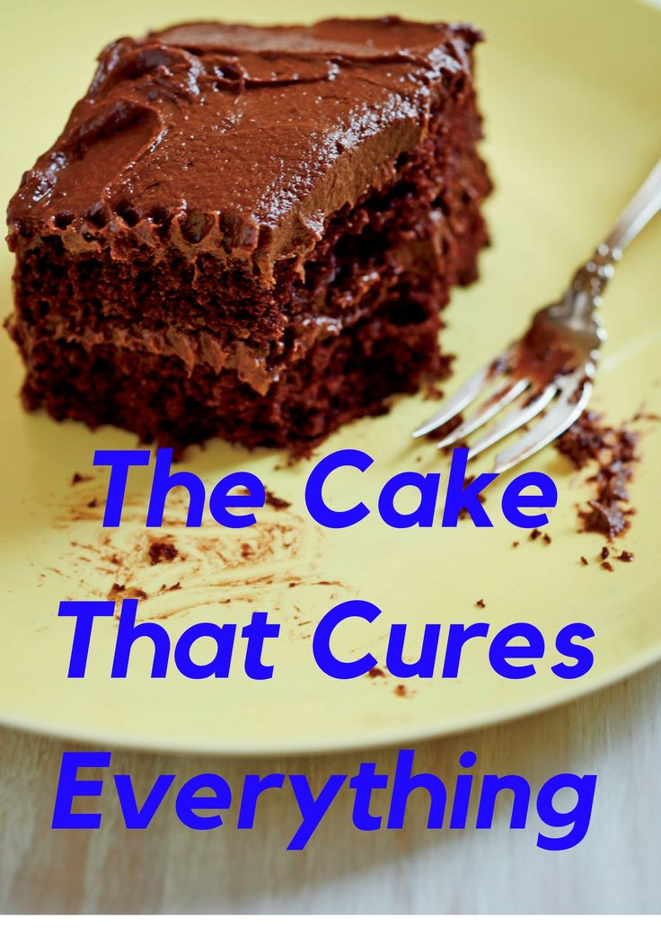 Ruth Reichl's The Cake That Cures Everything || In times of stress, only excess will do: This is an enormous cake. But it keeps very well. And there is no such thing as too much chocolate cake.