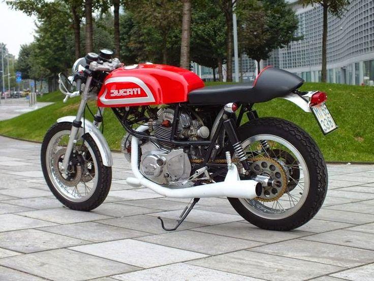 Ducati Pantah Ton Up Spirit