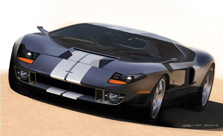 The next Ford GT  Cars  Pinterest  Ford GT Follow me and On