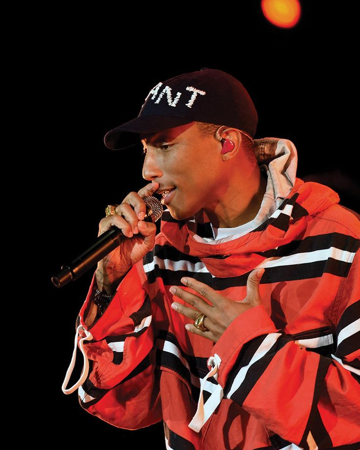Pharrell Williams has written and produced some of our favorite party tunes and getting ready songs, ever. He's worked with Britney Spears, Gwen Stefani, Shakira and more.