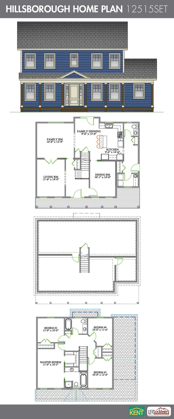 28 best 2 storey home plans images on pinterest home for House plans with eat in kitchen