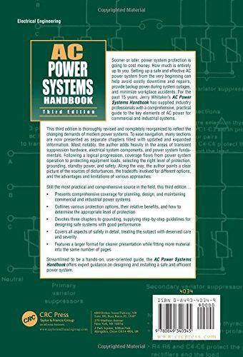 AC Power Systems Handbook, Third Edition (Electronics Handbook Series)