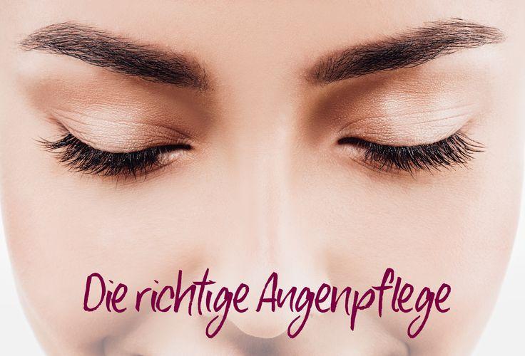 Die richtige Augenpflege - Was hilft gegen Krähenfüße, Tränensäcke & Co.