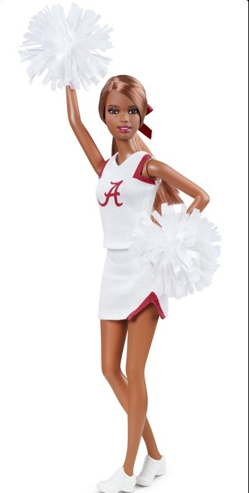 Mattel selling University Barbie. 1st teams: Bama, Auburn, LSU & Arkansas. Here's Bama