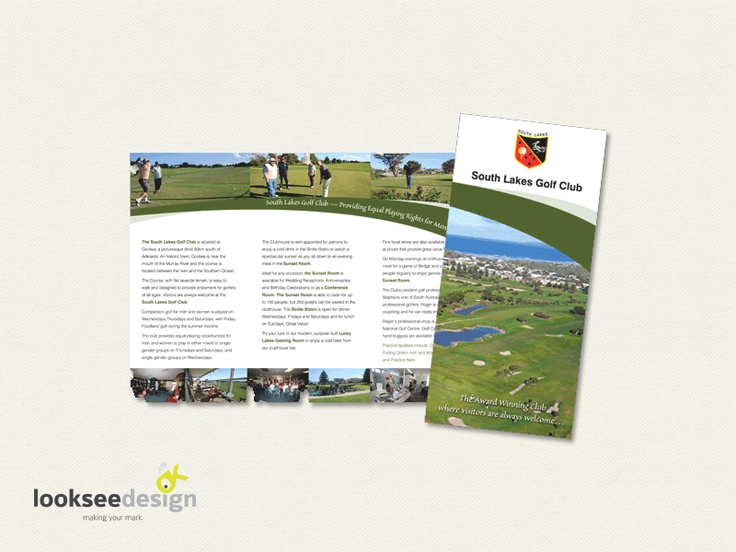 South Lakes Golf Club Promotional Brochure - Designed by Looksee Design