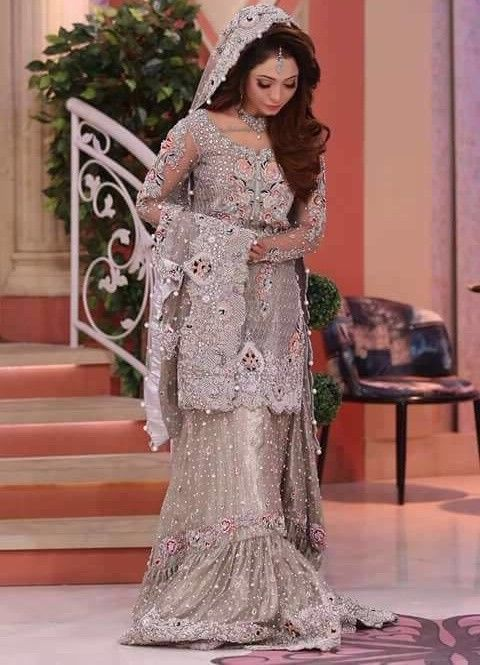 Bridal/Wedding indian Heavy lehenga/lengha/ghagra choli Anarkali maxi suit/dress