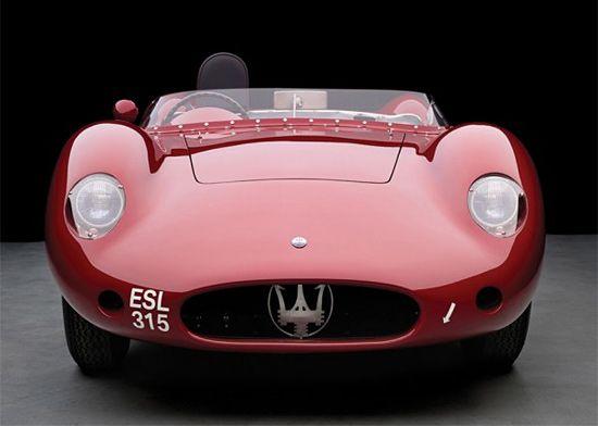 Classic Car: 1957 Maserati 250S   Inspiration Grid   Design Inspiration