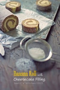 HESTI'S KITCHEN : yummy for your tummy: Banana Roll with Cheesecake Filling