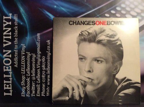 David Bowie ChangesOneBowie Greatest Hits LP Vinyl RS1055 A5E/B1E Rock Pop 70's Music:Records:Albums/ LPs:Pop:1970s