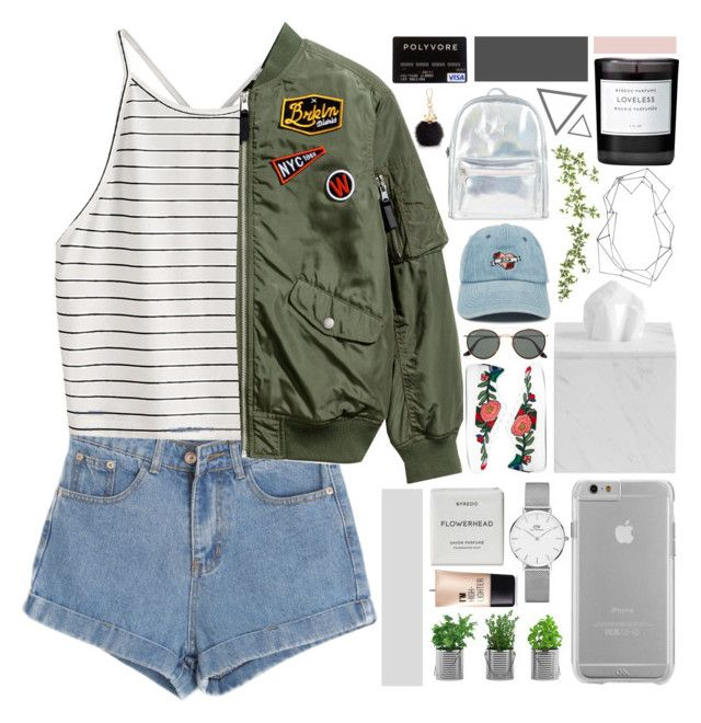 """""""good on paper, picture perfect"""" by starlight-dusk ❤ liked on Polyvore featuring Chicnova Fashion, Gucci, Case-Mate, Daniel Wellington, Charlotte Russe, Byredo, Ray-Ban, Forever 21, BANCI GIOIELLI and Accessorize"""