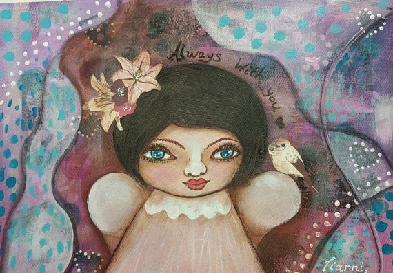 Hey, I found this really awesome Etsy listing at https://www.etsy.com/au/listing/525050320/purple-painting-original-whimsical