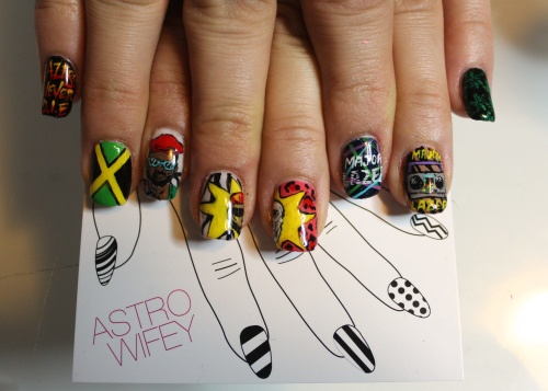 Major Lazer nails..THIS IS THE COOLEST THING I'VE EVER SEEN IN MY LIFE.