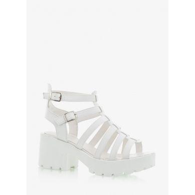 Sandały Frankie Star White Sandals