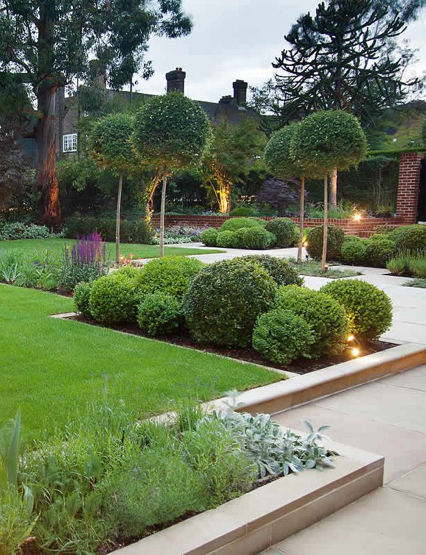 Best 25 contemporary gardens ideas on pinterest for Front landscape design