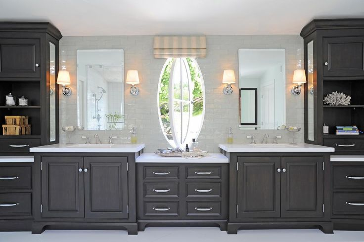 The 14 Foot Long Vanity In This Luxurious Master Bathroom