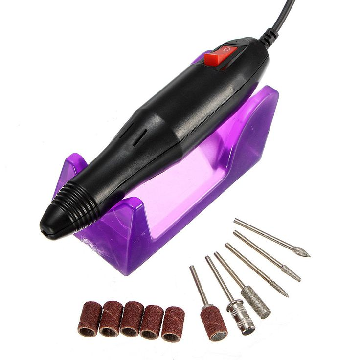 220-240V Professional Electric Nail Art Drill Manicure Pedicure Set - NewChic