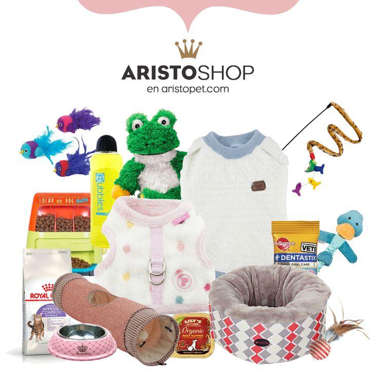 En ARISTOSHOP tenemos una selección de productos molones para tu ARISTOPERRO 🐶 y tu ARISTOGATO 🐱 : Camas, abrigos, juguetes, jerseys, comida ¡Y muchas cosas más!   ➡️️ Entra en ARISTOPET.COM/ARISTOSHOP y recuerda que HOY es el último día que puedes usar el código 2017 para obtener un 10% en tu compra.