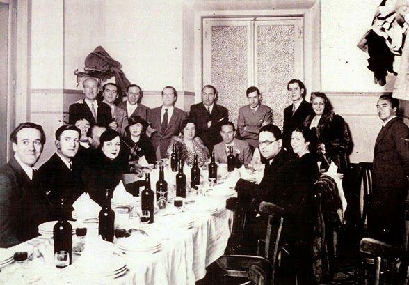 La última cena de los poetas de la generación del 27 (a la que pertenecía Federico García Lorca) se celebró en un restaurante de Madrid. ¿Quieres saber en cuál?